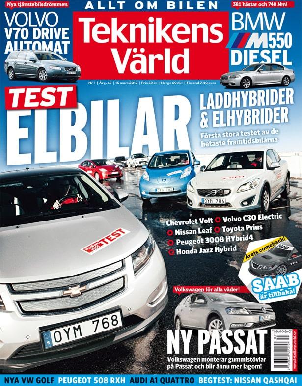 Teknikens Värld nummer 7 / 2012