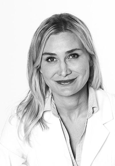 Anne Wetter, hudläkare och medgrundare av Diagnostiskt centrum hud och Inskinity.