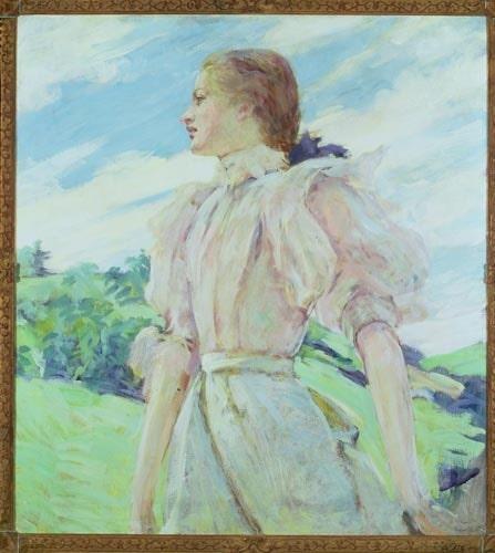 Lucy Maud Montgomerys Anne på Grönkulla längtade efter puffärmar. Foto: IBL
