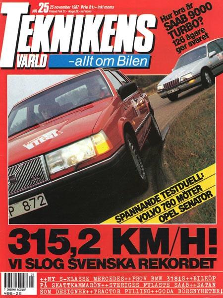Teknikens Värld nummer 25 / 1987