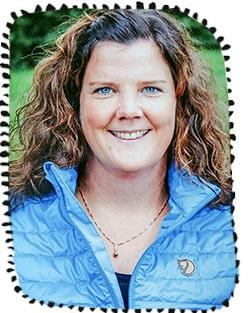 Annelie Åsander är förskollärare på en I ur och skur-förskola.