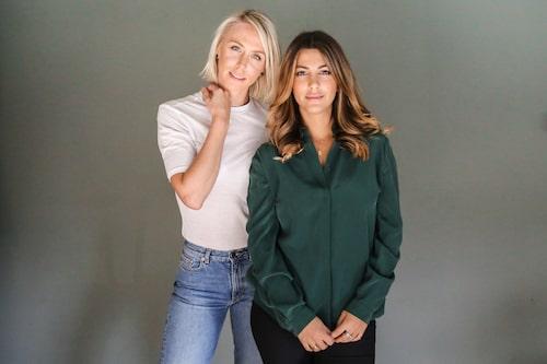 Elisabet Kjellqvist och Tara Derakshan, grundarna av Sniph.