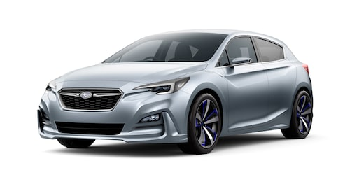 Nya Impreza ser inte ut att bli riktigt lika tuff som konceptbilen från i höstas, men ändå betydligt tuffare än sin företrädare.