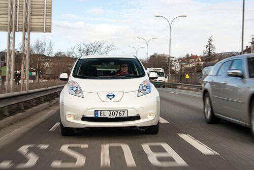 El-bilister i Oslo susar förbi  alla bensin- och dieselbilar.