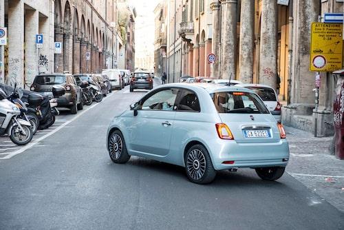 Fiat 500 är billig att äga. Inte för att den är bränslesnål, mer på grund av bra andrahandsvärde.