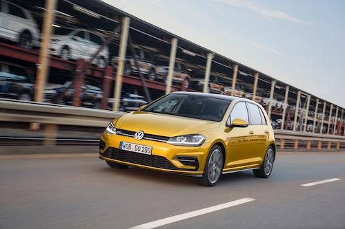 Volkswagen Golf är Sveriges mest sålda bil 2016.