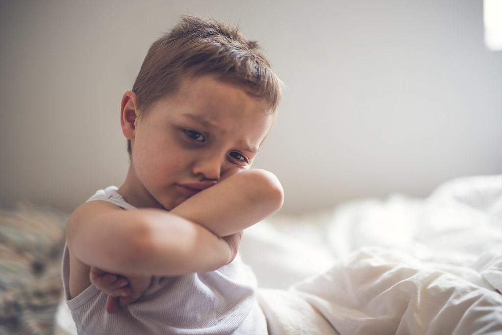 Nattskräck är vanligast i förskoleåldern.