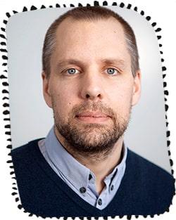 Gustaf Gredebäck, professor i utvecklingspsykologi. Foto: Mikael Wallerstedt.
