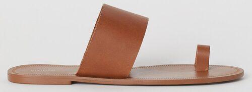 Slip in-sandaler från H&M i äkta skinn. Klicka på bilden och kom direkt till sandalerna.