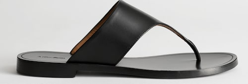 Slip in-sandaler från & Other Stories i mjukt skinn. Klicka på bilden och kom direkt till sandalerna.