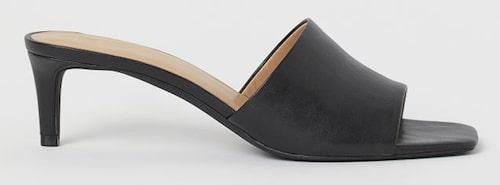 Slip in-sandaletter från H&M i läderimitation. Klicka på bilden och kom direkt till sandalerna.