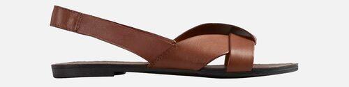 Sandaler 2021: sling back-sandaler för dam.