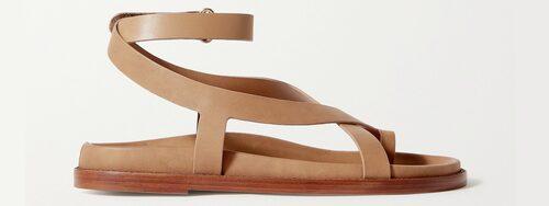 Sandaler 2021: gladiatorsandaler för dam.