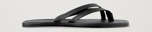 Sandaler 2021: flip flop-sandaler för dam.