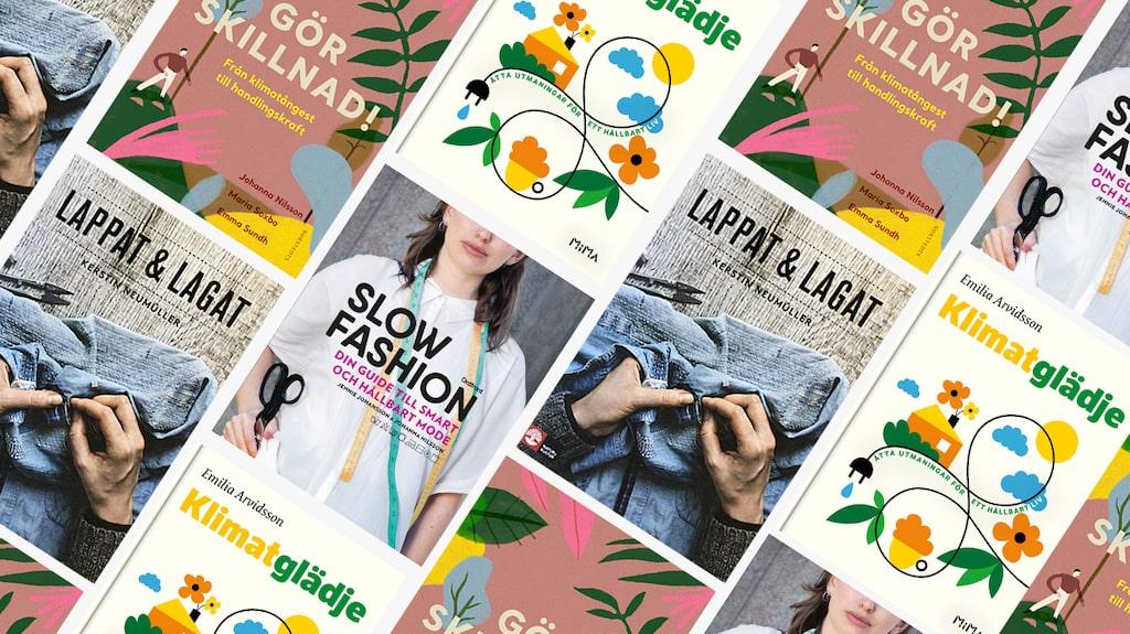 Böcker om hållbarhet och hållbart mode –för dig som vill lära di gmer.