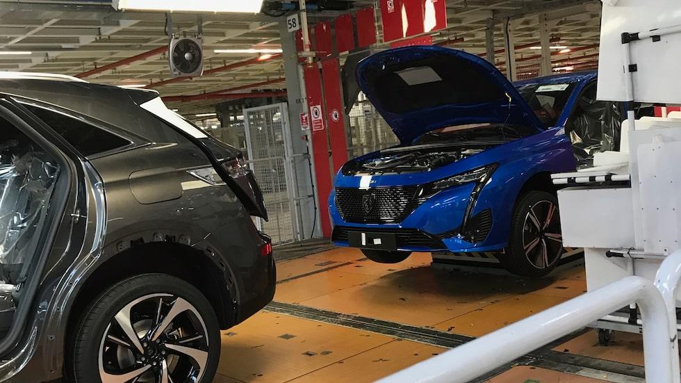 Stellantis bilfabrik i Toulouse.