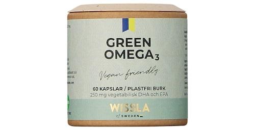 Green omega 3 från Wissla of Sweden.