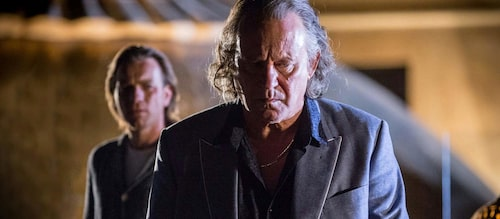 Stellan Skarsgård som den ryske affärsmannen Dima i bioaktuella filmen Our kind of traitor.