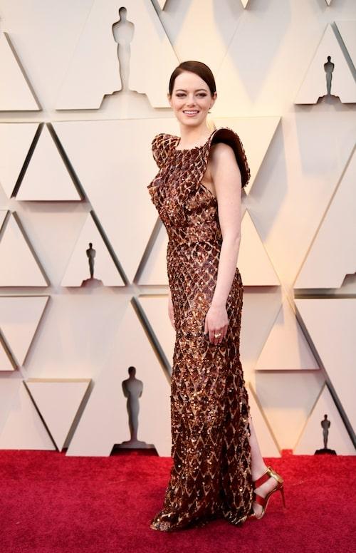 Emma Stone i Louis Vuitton.