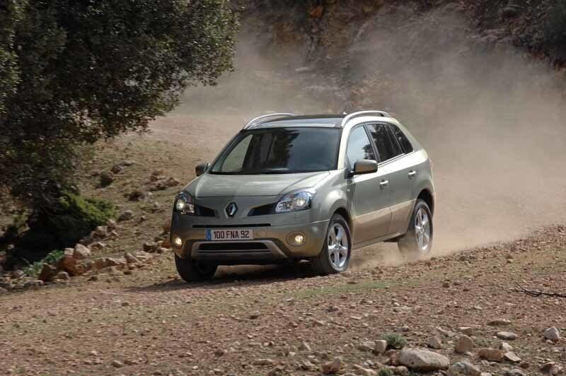 Provkörning av Renault Koleos 2,0 dCi