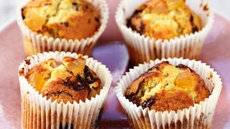 Ingefärs- och chokladmuffins
