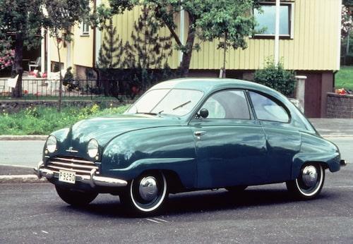 Saab 92, 1947. I produktion 1949.