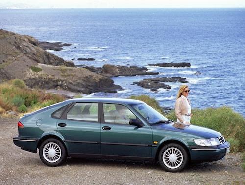 Saab 900 generation 2, 1993. Här 900 SE V6 från 1994.