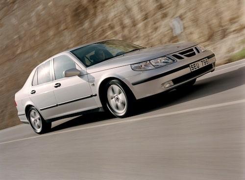 Saab 9-5 facelift 1, 2002.
