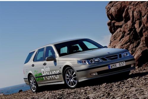 Saab 9-5 BioPower, 2005.