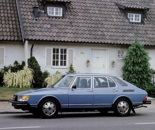 Saab 900, 1978.