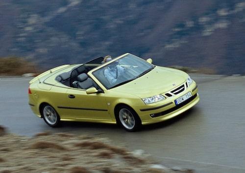 Saab 9-3 Cabriolet generation 2, 2003.