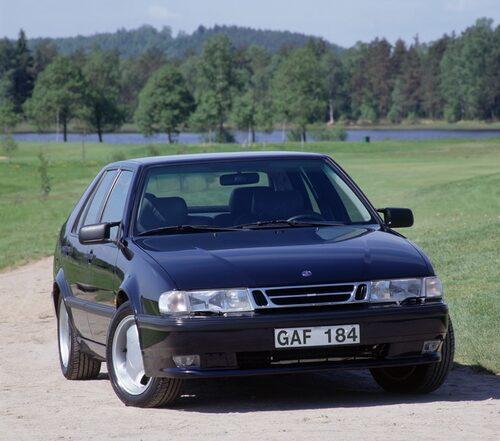 Saab 9000 Aero, 1992. Här en av årsmodell 1997.