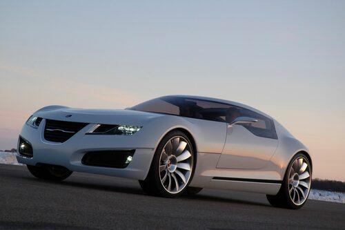 Saab Aero X, 2006. Inte en produktionsbil som övriga bilar i bildspelet, utan en konceptbil. Men den rönte så stor uppmärksamhet när den kom att den är värd sin plats här.