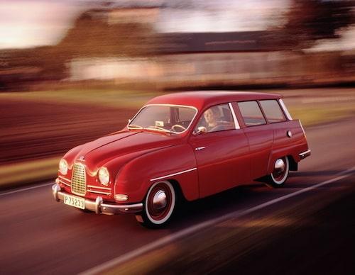 Saab 95, 1959.