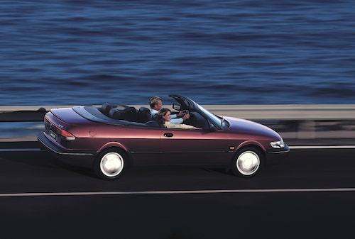 Saab 900 Cabriolet generation 2, 1994.