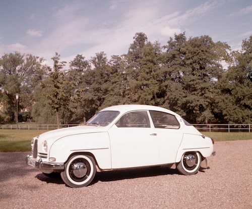 Saab 96, 1960.