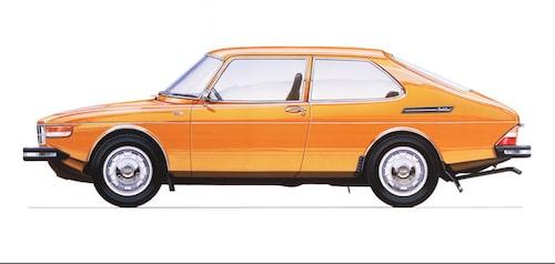 Saab 99 Combi Coupé, 1973.