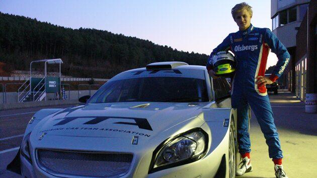 Marcus Ericsson testade åt TTA