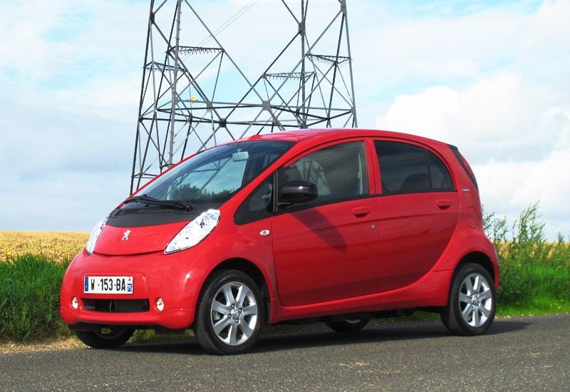 Provkörning av Peugeot iOn