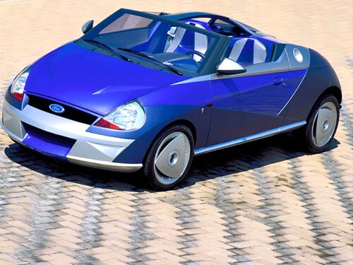 Ghias koncept Saetta kom att inspirera Ford...