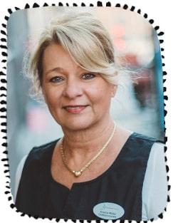 Kristina Müller, chefbarnmorska.
