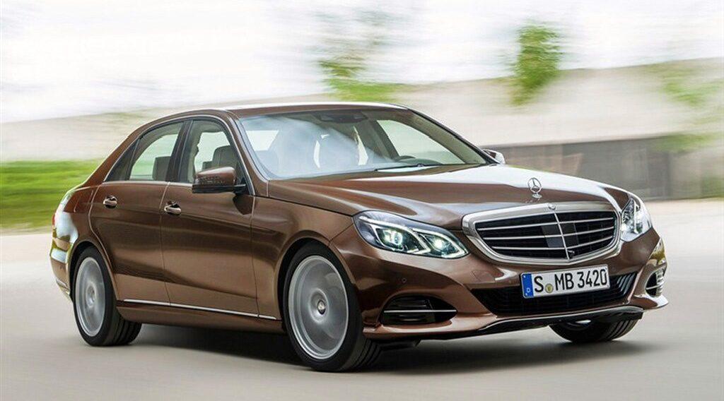 Mercedes E-klass facelift 2013