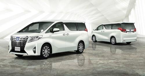 Toyota Alphard sägs stå som grund för Lexus MPV.