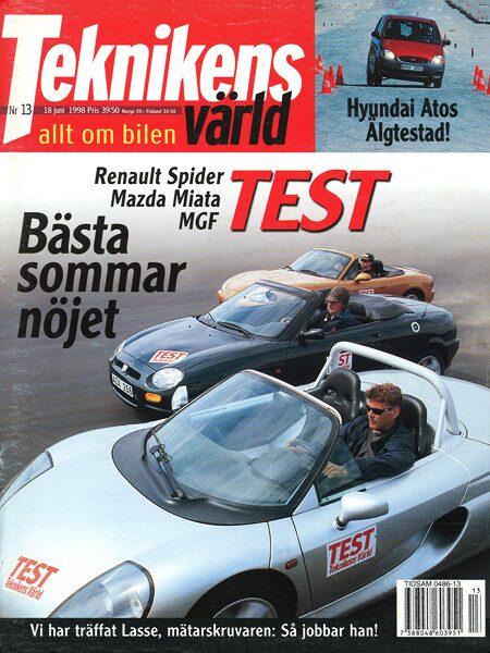 Teknikens Värld nummer 13 / 1998