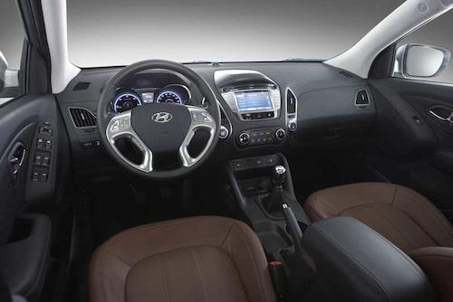 Snyggt och modernt, med mycket Hyundai-känsla.