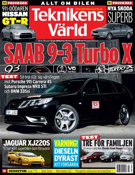 Teknikens Värld nummer 13 / 2008