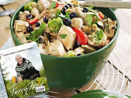 Lättlagad kycklinggryta ur boken Ferry Food.