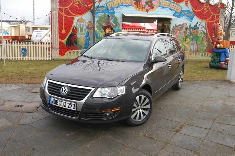 Provkörning av Volkswagen Passat TSI Ecofuel