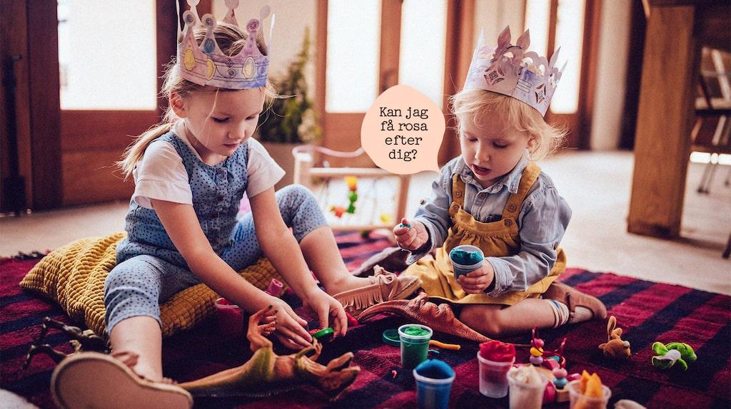 Enkelt recept på Play-doh med ingredienser du (troligtvis) har hemma!