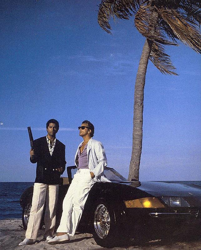 Sonny Crockett och Ricardo Tubbs när det begav sig.